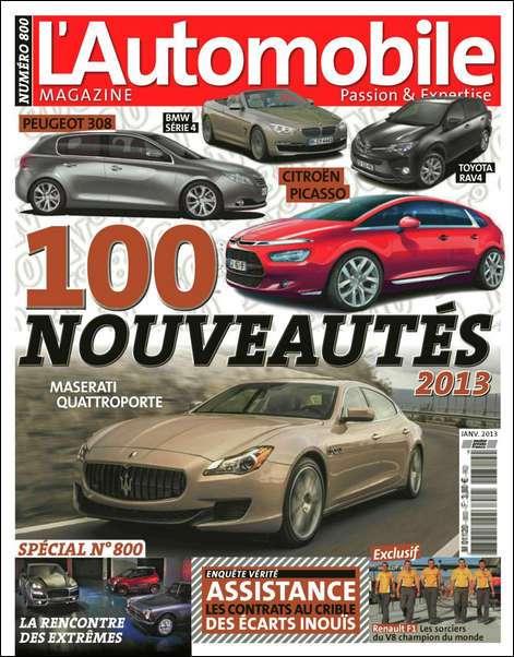 L'Automobile Magazine N°800 Janvier 2013