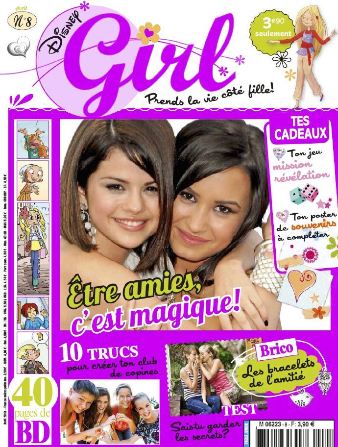 Disney Girl N°8 Avril 2013
