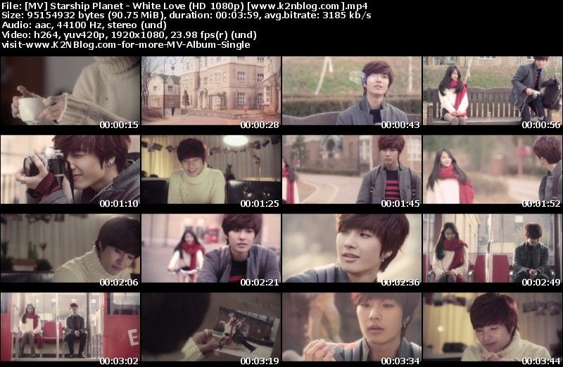 [MV] K.Will, Soyu & Jeongmin (Starship Planet)   White Love (HD 1080p Youtube)