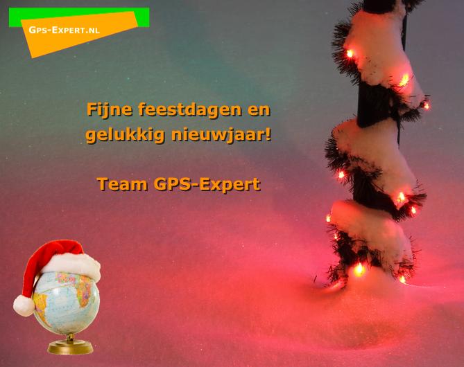 Fijne feestdagen en gelukkig nieuwjaar!  Team GPS-Expert