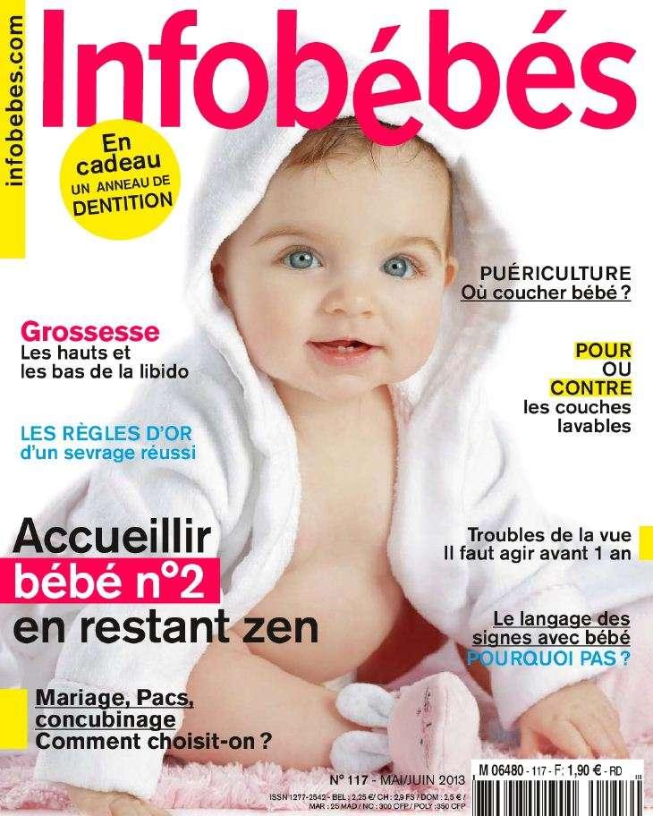 Infobébés N°117 Mai Juin 2013