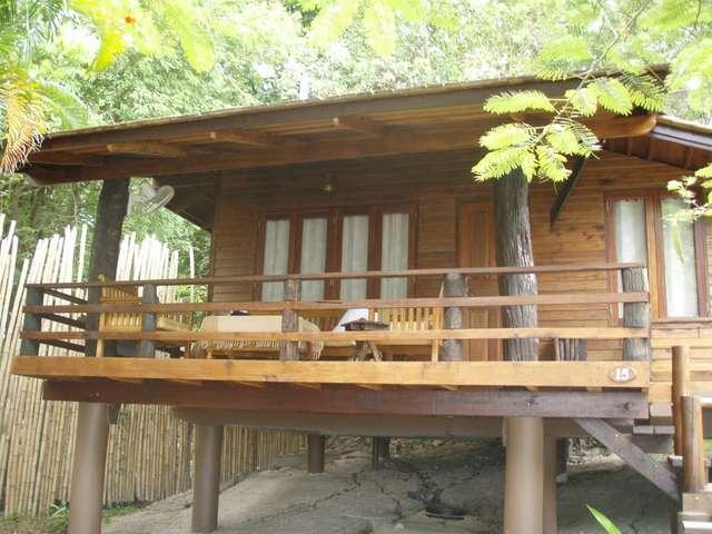 """Hütte"" im Resort"
