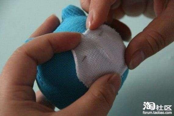 74790910 - Manual para hacer ositos de peluche con calcetines viejos