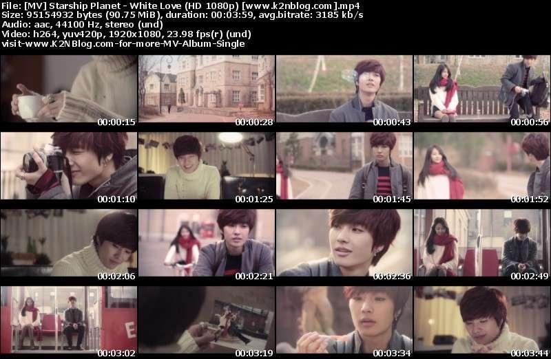 [MV] K.Will, Soyu & Jeongmin - White Love (HD 1080p Youtube)